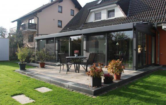 anbau + wintergarten